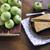 dilim · elma · plaka · meyve · yemek - stok fotoğraf © kidza