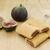 figa · cookie · trzy · biały · deser - zdjęcia stock © kidza