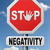 stop negativity stock photo © kikkerdirk