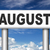 következő · augusztus · nyár · naptár · vakáció · esemény - stock fotó © kikkerdirk