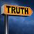igazság · jelzőtábla · nyíl · tisztességes · őszinteség · hosszú - stock fotó © kikkerdirk