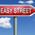 easy street road sign arrow stock photo © kikkerdirk