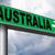 australia sign stock photo © kikkerdirk