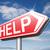 segítség · engem · hangsúlyos · üzletasszony · tart · karton - stock fotó © kikkerdirk