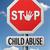 stop child abuse stock photo © kikkerdirk
