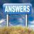 sorular · cevaplar · tabelasını · görüntü · altı · siyah - stok fotoğraf © kikkerdirk