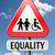 равный · правые · женщины · человека · инвалидов - Сток-фото © kikkerdirk
