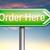 order here stock photo © kikkerdirk
