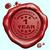 garantie · année · tampon · rouge · cire · sceau - photo stock © kikkerdirk