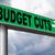 orçamento · cortar · texto · tesoura - foto stock © kikkerdirk