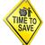 válság · előre · jelzőtábla · üzlet · út · biztonság - stock fotó © kikkerdirk