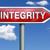 integrity road sign arrow stock photo © kikkerdirk