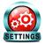 settings button stock photo © kikkerdirk