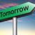 amanhã · placa · sinalizadora · próximo · dia · programar · agenda - foto stock © kikkerdirk