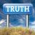 находить · правда · честный · честность · долго · способом - Сток-фото © kikkerdirk