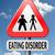 eszik · zűrzavar · anorexia · elhízottság · elhízott · étel - stock fotó © kikkerdirk