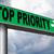 Top · приоритет · важный · высокий · срочность · информации - Сток-фото © kikkerdirk