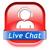 élet · chat · gomb · ikon · beszélget · online - stock fotó © kikkerdirk