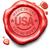 штампа · гарантированный · подлинный · красный · воск · печать - Сток-фото © kikkerdirk
