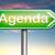 l'ordre · du · jour · calendrier · affaires · calendrier · planification - photo stock © kikkerdirk