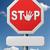 stop road sign stock photo © kikkerdirk