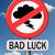Bad · fortuna · sfortuna · sfortunato · giorno · segno - foto d'archivio © kikkerdirk