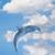 yunus · görüntü · atlama · su · balık · yaz - stok fotoğraf © Kirschner