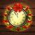 Рождества · венок · часы · иллюстрация · Новый · год · украшение - Сток-фото © kjolak