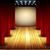 teatro · fase · rosso · sipario · maschera - foto d'archivio © kjolak