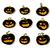 halloween · tökök · mosoly · arc · háttér · narancs - stock fotó © kjolak