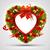 Noel · çelenk · noel · ağacı · ağaç · soyut - stok fotoğraf © kjolak