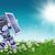 robot · grasmaaier · gras · model · toekomst · machine - stockfoto © kjpargeter