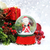 christmas background with snow globe stock photo © kjpargeter