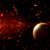 3d space background with fictional planets stock photo © kjpargeter