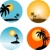 zomer · palmbomen · boom · voorjaar · achtergrond - stockfoto © kjpargeter