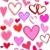különböző · szívek · izolált · fehér · szív · kereszt - stock fotó © kjpargeter