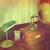 gramofon · 3d · render · egy · ősi · fa · asztal · barna - stock fotó © kjpargeter