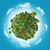 arenoso · planeta · terra · areia · cascalho · forma - foto stock © kjpargeter