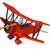 3d · человек · Flying · самолет · синий · бумажный · самолетик · свободу - Сток-фото © kjpargeter