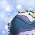 hóbortos · rajz · manó · hó · földgömb · madár - stock fotó © kjpargeter