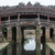 japán · híd · templom · Vietnam - stock fotó © Klodien