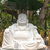 Large white Buddha statue at Giac Lam Pagoda in Saigon. stock photo © Klodien