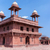 The Hall of Private Audience at Fatehpur Sikri palace and fort. stock photo © Klodien