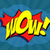 Wow! Comic Speech Bubble stock photo © klss