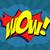 wow · komische · tekstballon · cartoon · effecten · kunst - stockfoto © klss