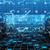 抽象的な · 技術 · 3次元の図 · 番号 · 回路基板 · 模倣 - ストックフォト © klss