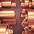réz · csövek · halom · fém · csövek · 3D - stock fotó © klss