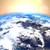 地球 · 回転 · スペース · アメリカン · 大陸 · 抽象的な - ストックフォト © klss