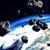 meteoro · explosão · planeta · terra · 3D · prestados · ilustração - foto stock © klss