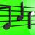 note · musicali · texture · note · tornado · vettore · grafica - foto d'archivio © klss